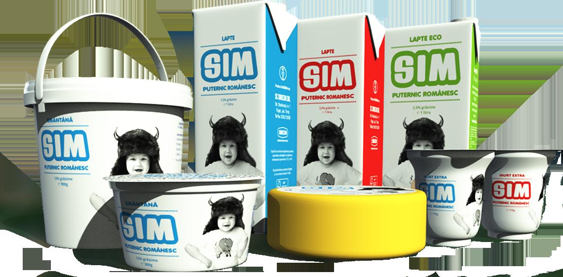 Produse Lactate SIM